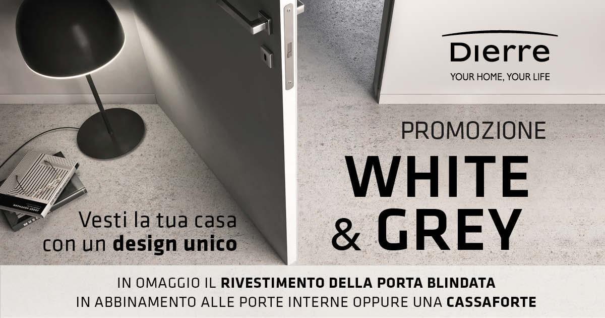 promozione white & grey